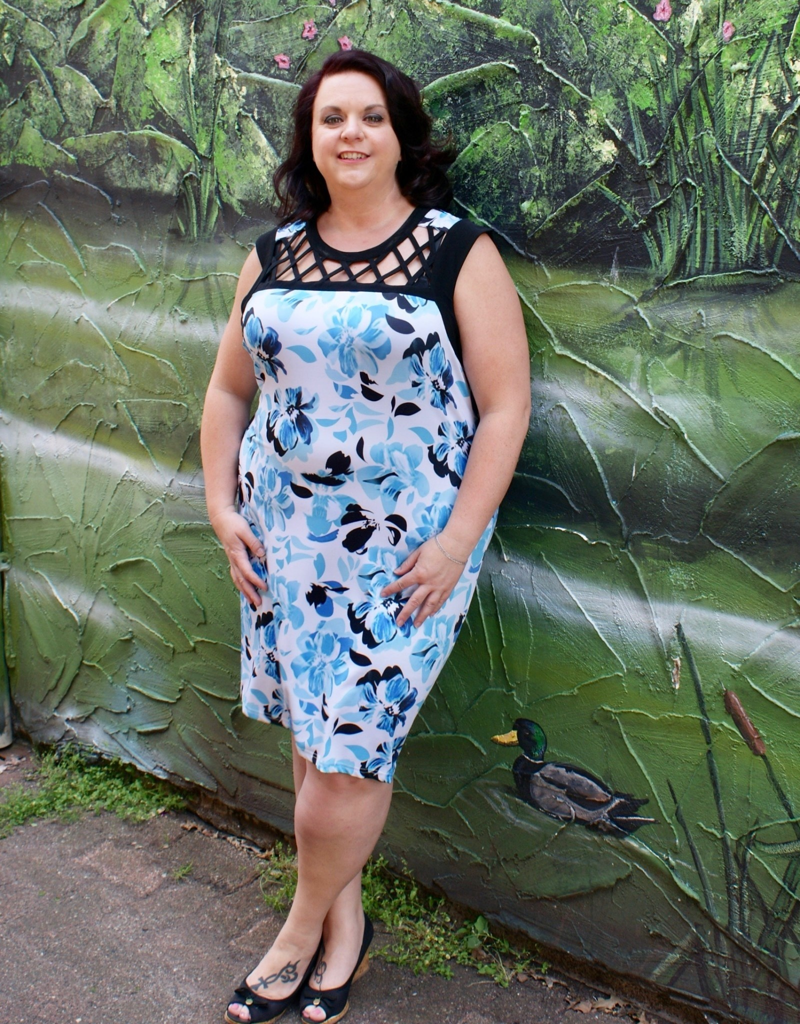 Tango Mango Lattice Dress