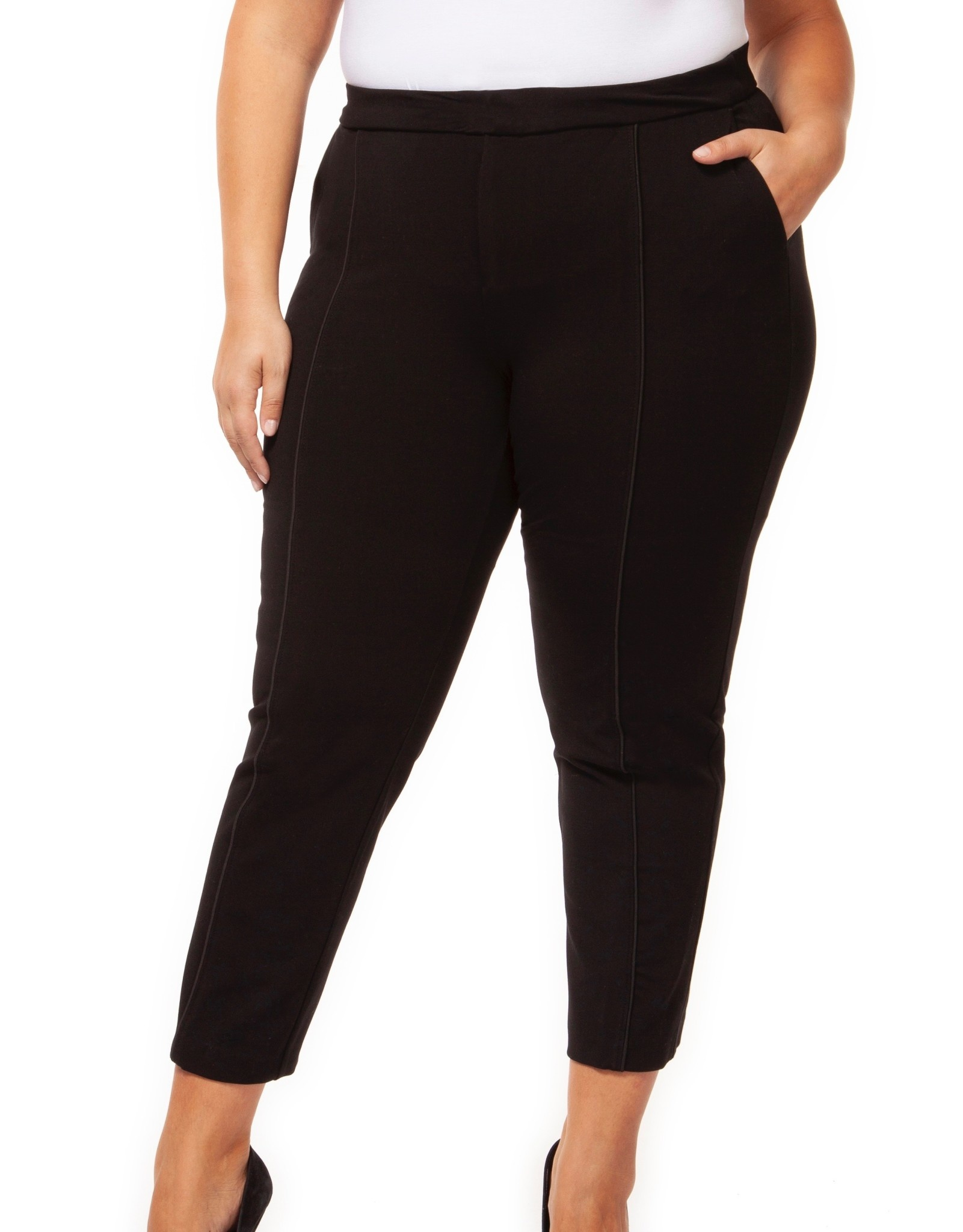 Dex Pintuck Ankle Pant