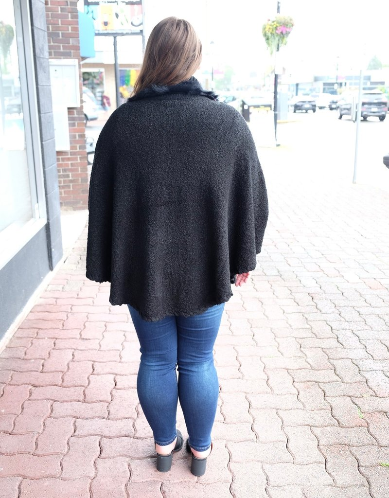 Papa Fashions Knitted Cape