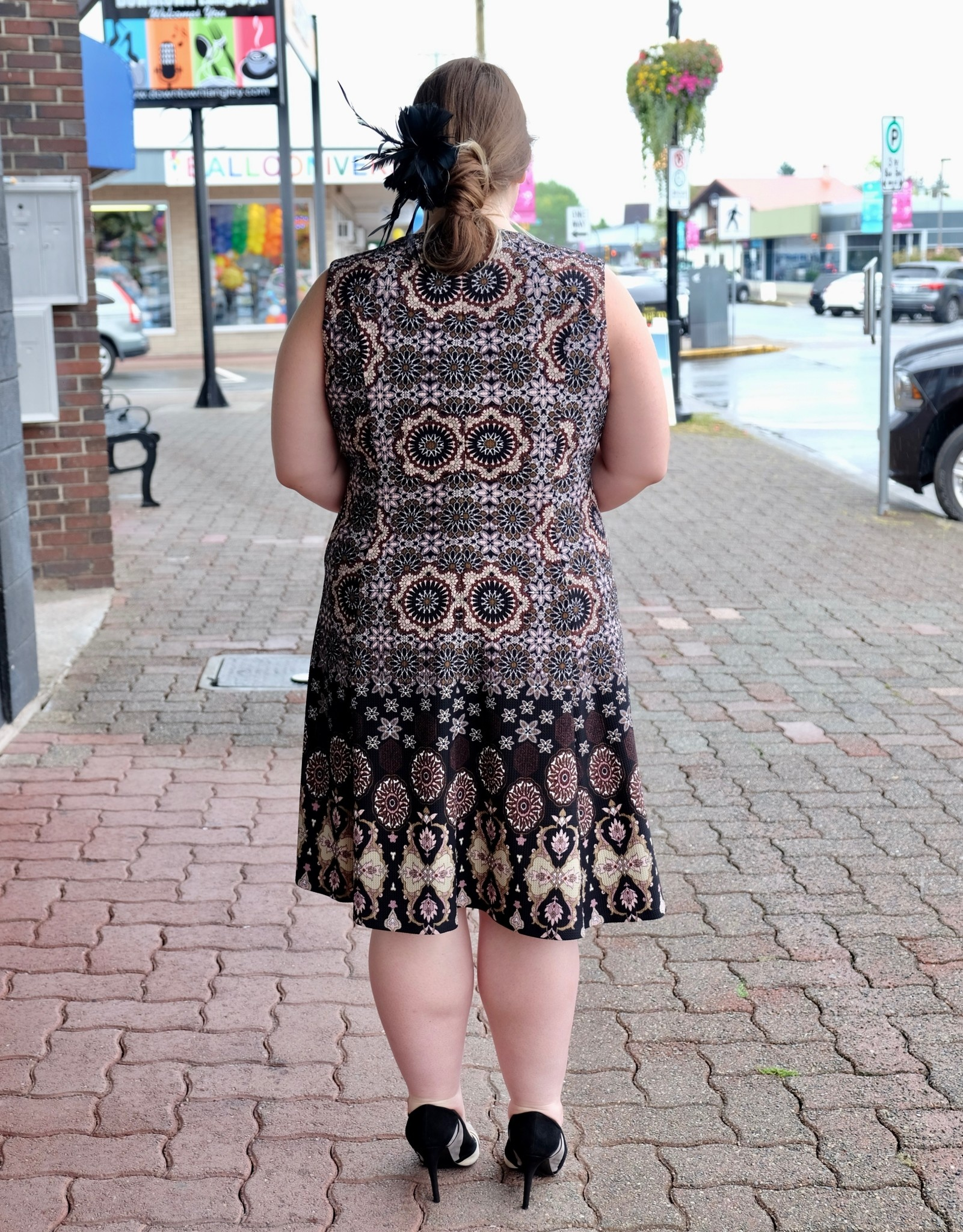 London Times Theodora Dress