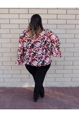Artex Fashion Floral Chiffon Top