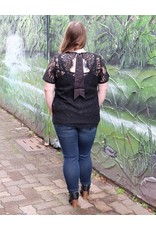 Black Label Lacey Top