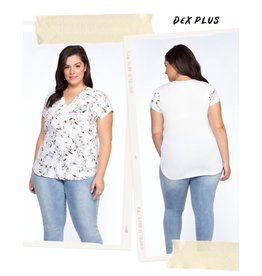Dex Flower Print Top