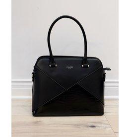Holiday Group Satchel Handbag Blk