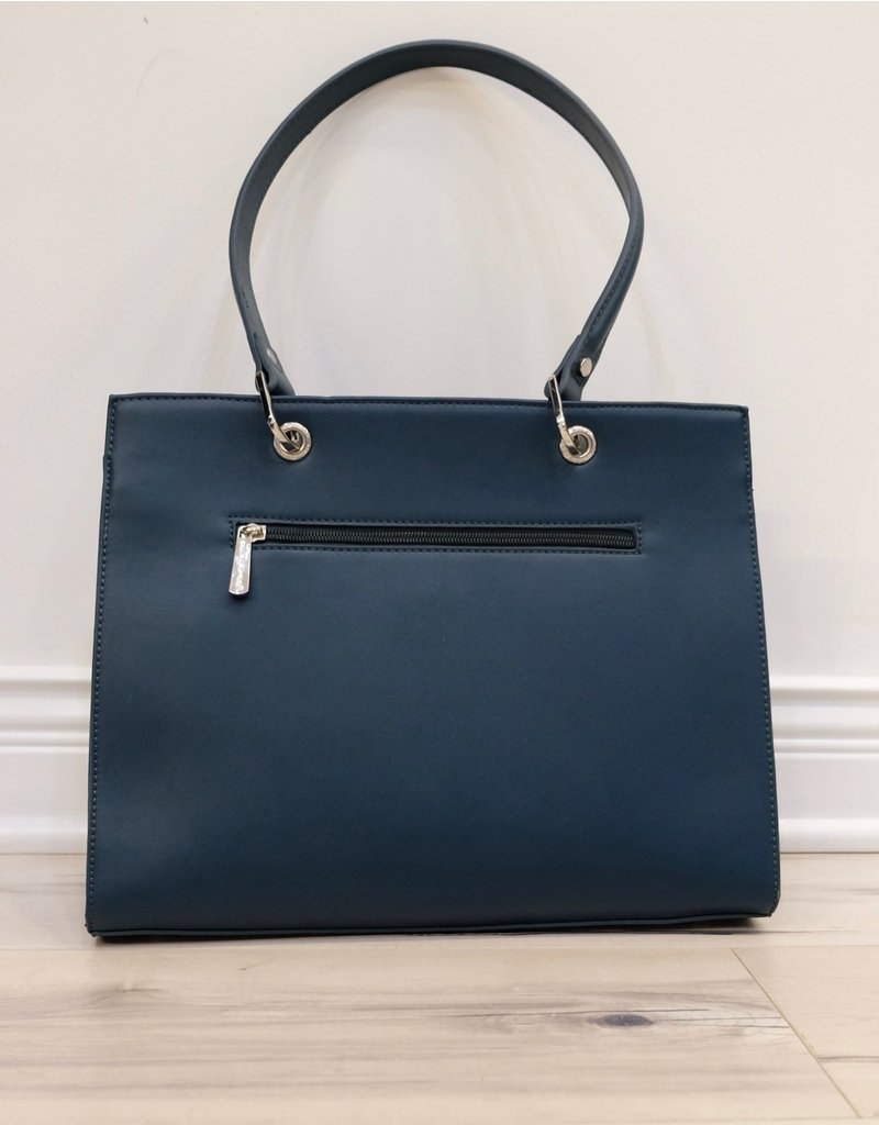 Holiday Group Satchel Handbag Peacock