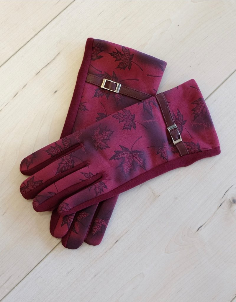 Duguay Printed Gloves