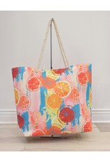 Fashion Island Citrus Water Beach Bag