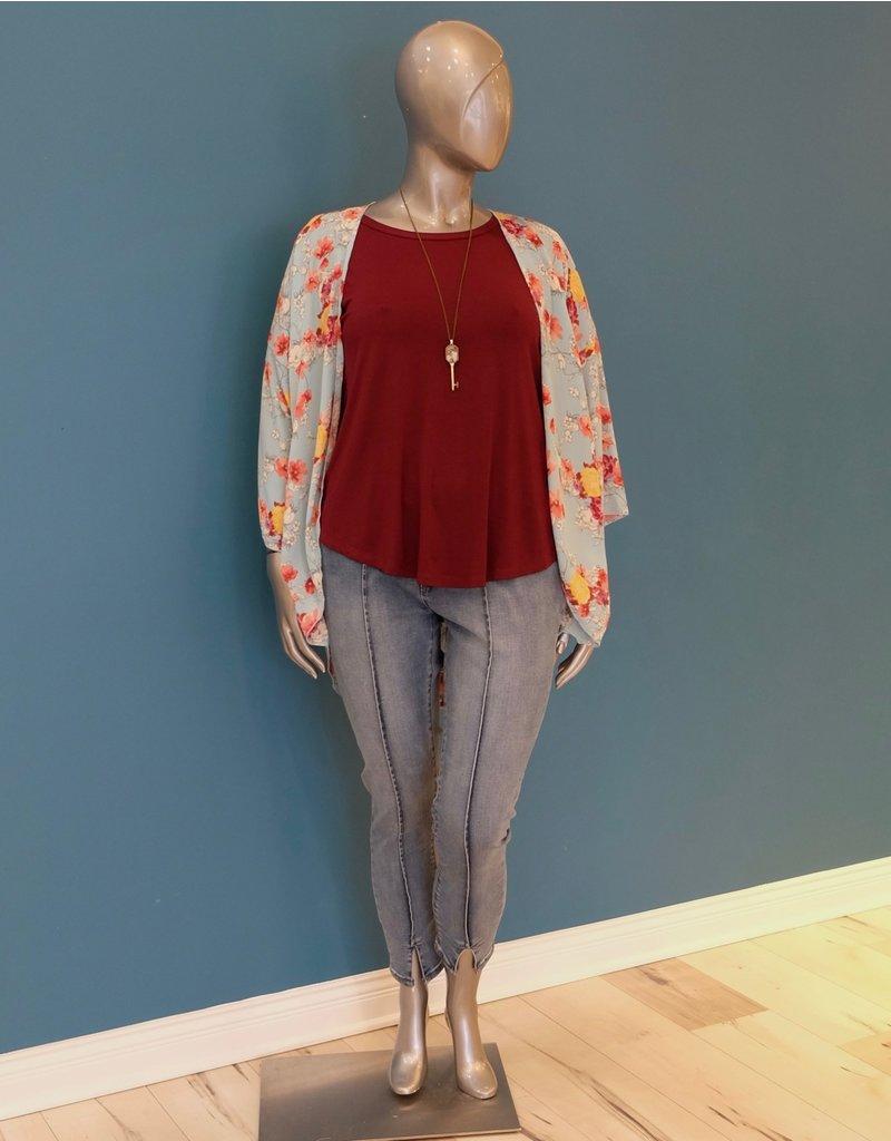 Fashion Island Primrose  Kimono