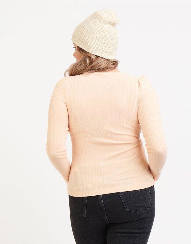 Dex Puff Shoulder Top