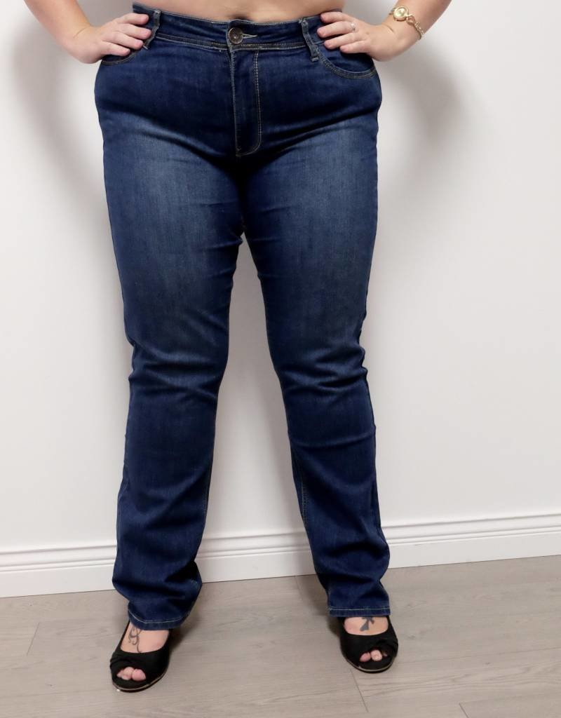 Carreli Jeans Sarah High Rise Slim