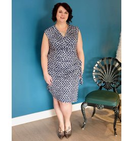 Tango Mango Faux Wrap Dress