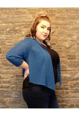 Pretty Women Teal Sweater Bolero