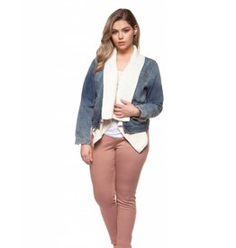 Dex Ribbed Sweater Jacket