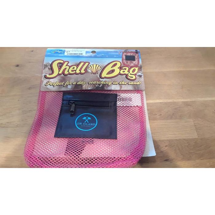 Logo Mesh Shell Bag