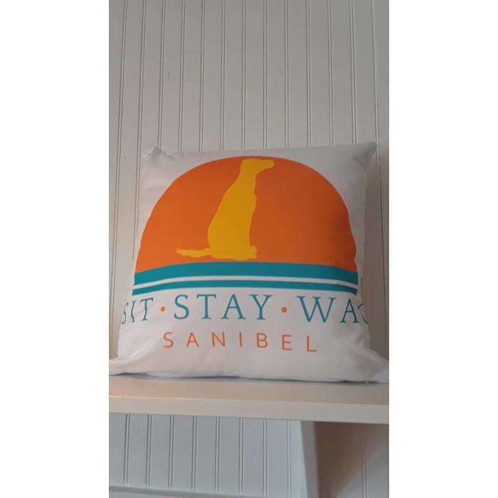SSW Throw Pillow 18x18