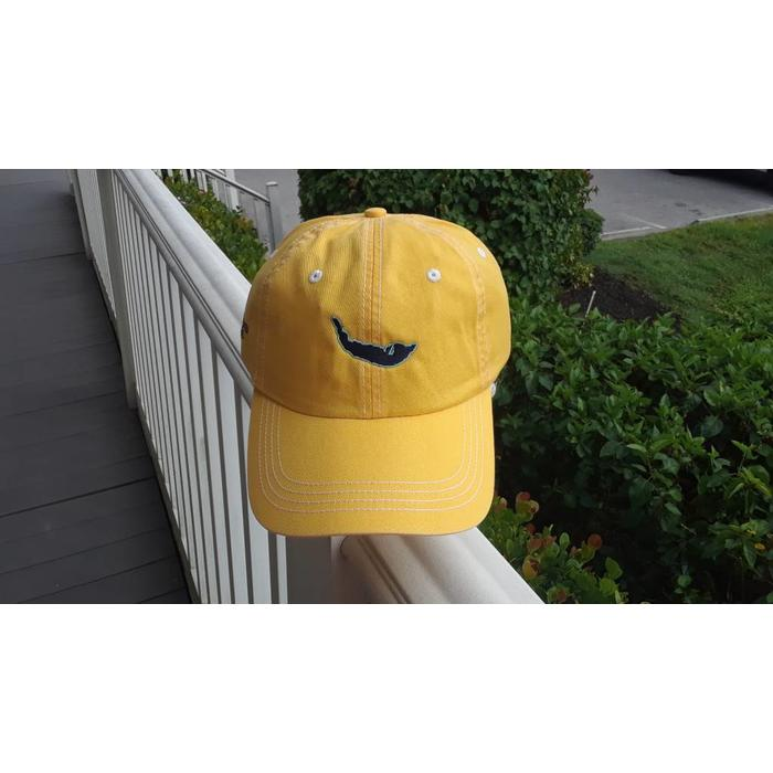 Yellow Map Twill Hat