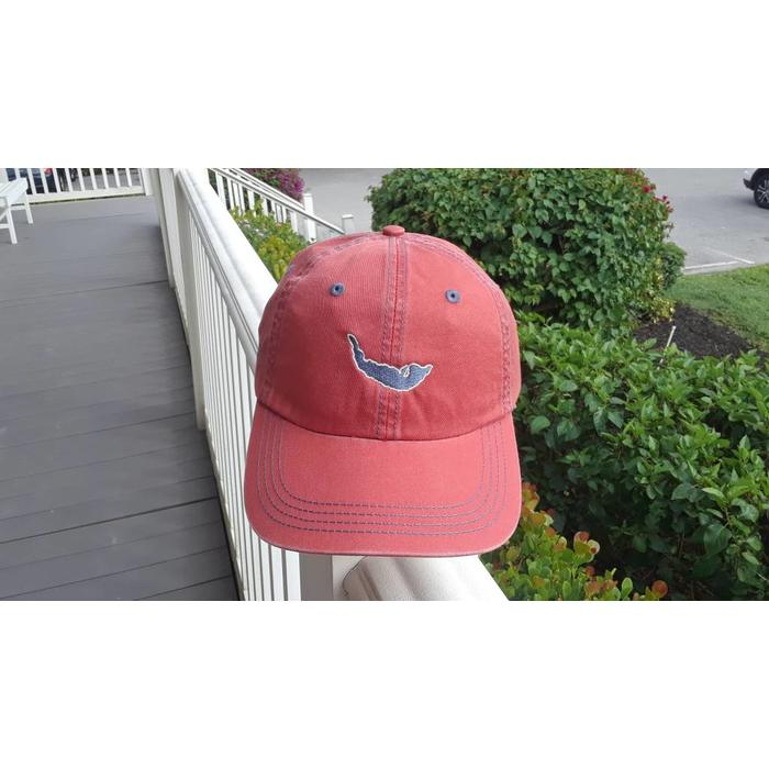 Nantucket Red Map Twill Hat