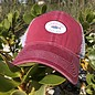 Logo Fish Truckers Hat Red