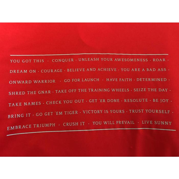 The Shirt of Encouragement