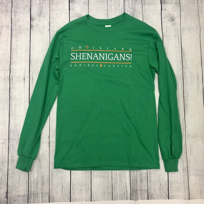 ON SALE!!  Shenanigans! Long Sleeve Crew