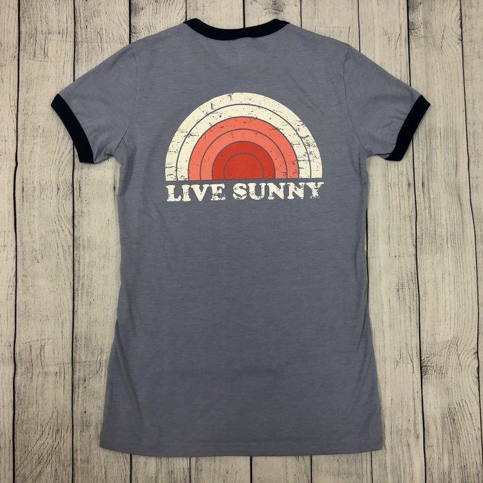 Ladies Fit Retro Live Sunny
