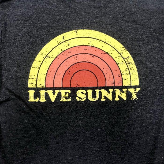Retro Live Sunny Ringer Tee