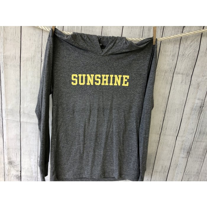 Sunshine Triblend Hoodie (also in aqua)