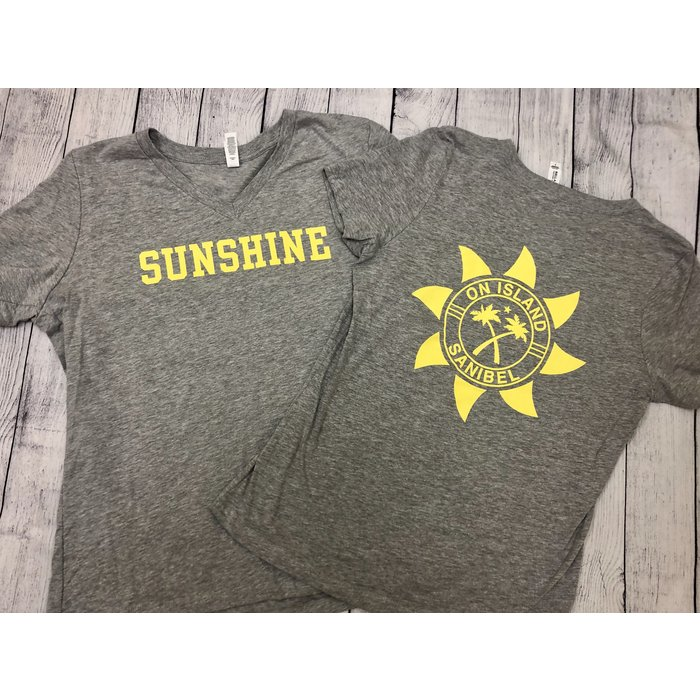 Ladies Sunshine Short Sleeve (also comes in heather grey)