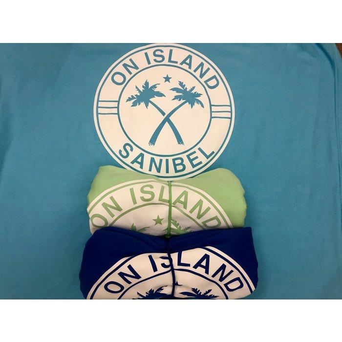 On Island Sweatshirt Throw Blanket