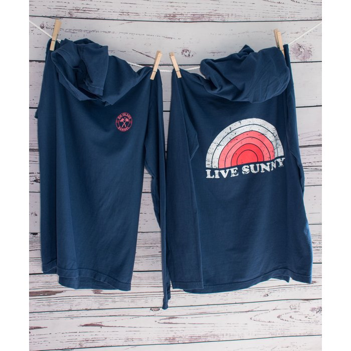 ON SALE! Retro Live Sunny Light Weight Hoodie