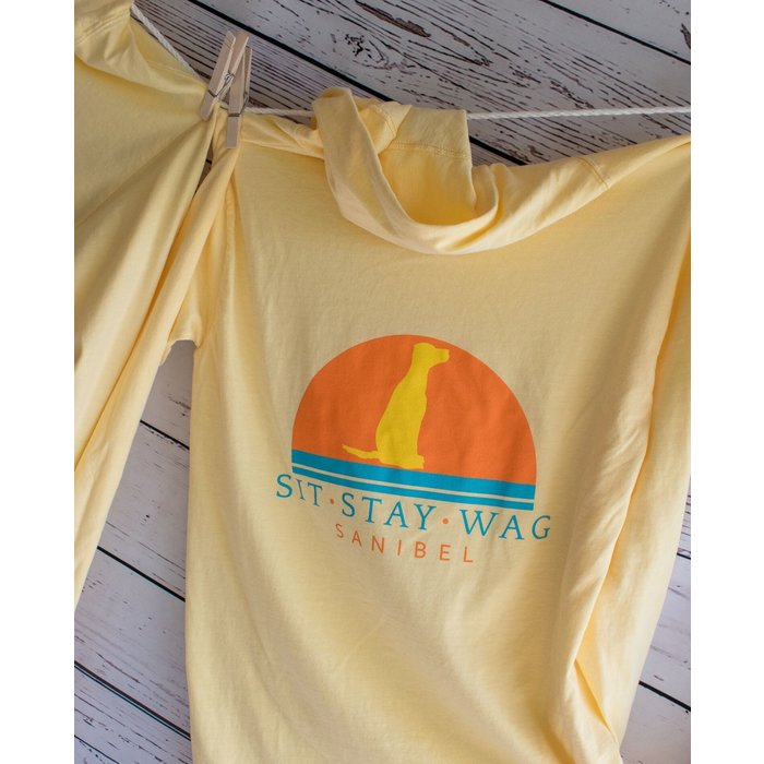 ON SALE!!     Sit Stay Wag Hoodie