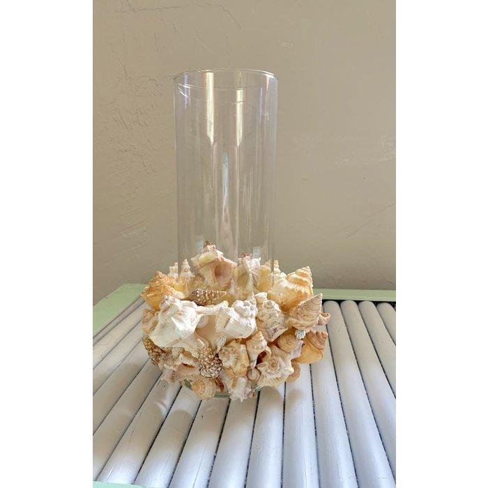 Shell Vase / Hurricane Lamp - small
