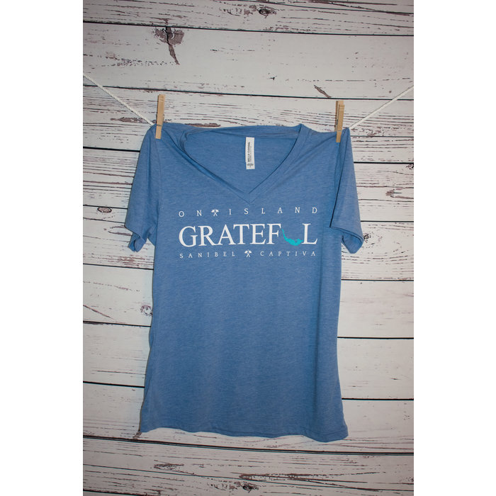 Ladies Grateful VNeck