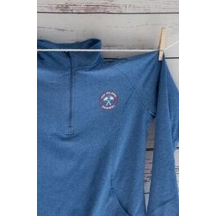ON SALE!! Ladies On Island Athletic 1/4 Zip (Also available in Blue)