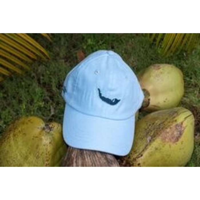 Map Hat in Chambray