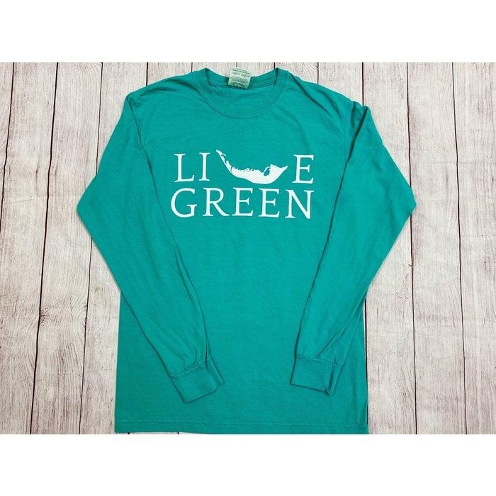 Live Green! Long Sleeve Crew