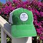 Green Logo Patch Trucker Hat
