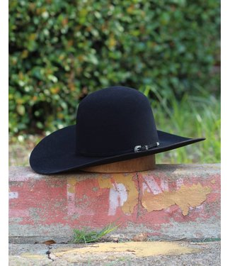 American Hat Co American Black 7X Felt
