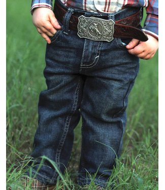 Wrangler Kids 20X 44 Slim Straight Dark Wash