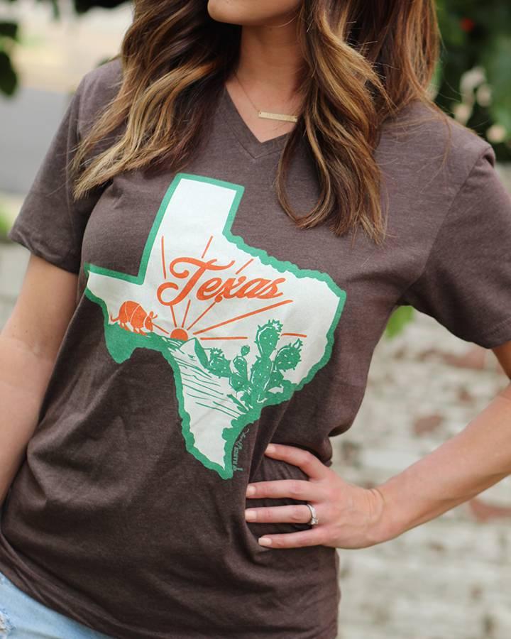 Diamond T Outfitters Retro Texas Scene Tee