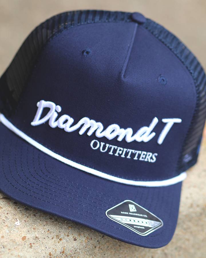 Diamond T Outfitters The Diamond T Retro Navy