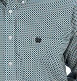 Cinch Cinch Teal Block Long Sleeve Shirt