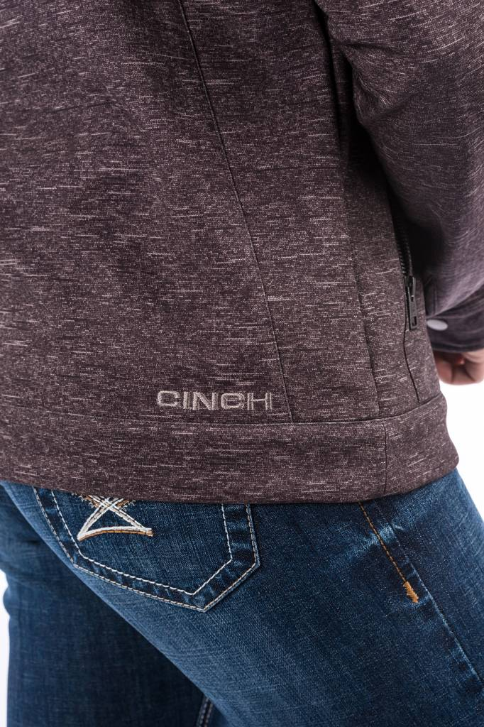 Cinch Charcoal Printed Softshell Jacket