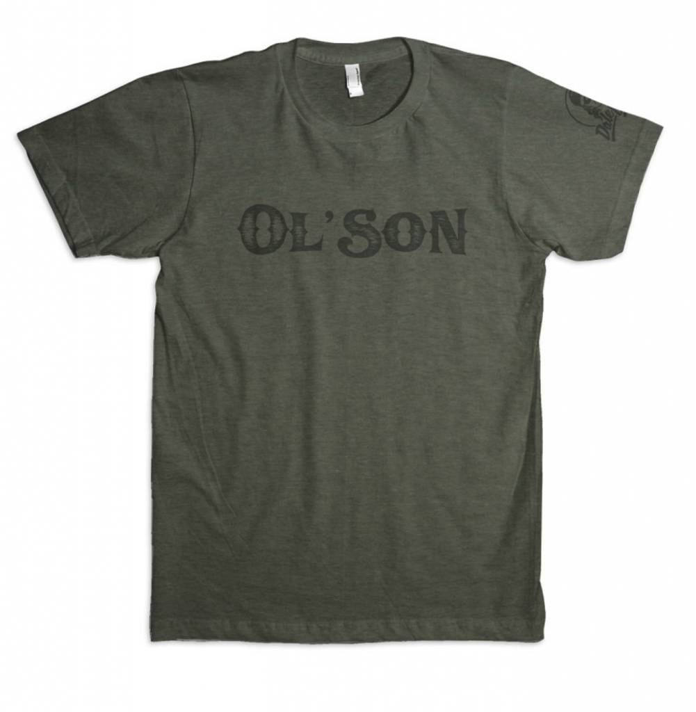 Dale Brisby Ol' Son Military Green Tee