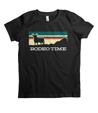 Dale Brisby Youth Sunset Rodeo Time Tee