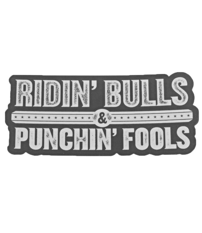Dale Brisby Ridin' Bulls Decal