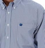 Cinch The Classic Royal Blue Pin Stripe