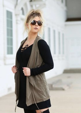 billabong Walk On Black Dress