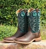 Justin Justin Austin Teal Bent Rail Boot