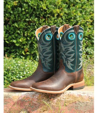 Justin Justin Austin Teal Bent Rail Boot